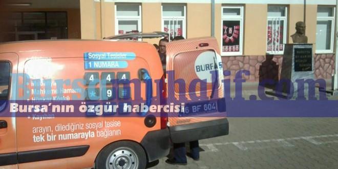 Bursa Büyükşehir Belediyesi'nden Akp'li Görevlilere Kumanya
