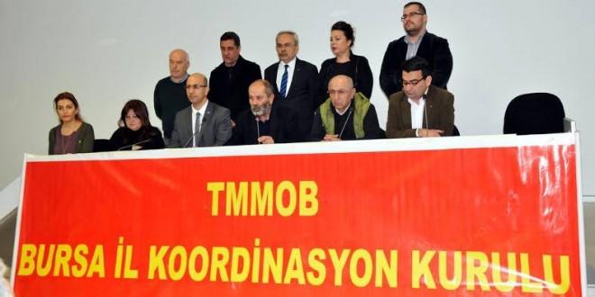 Bursa'da AKP'li kurumlara TMMOB'den çağrı: 'Partizanlık yapmayın!'