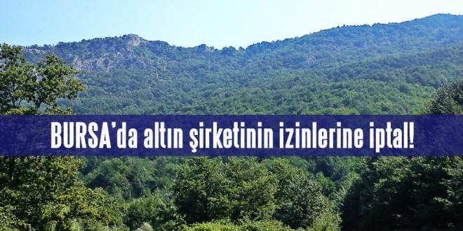 Bursa'da altın şirketinin izinlerine iptal!