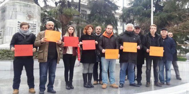 Diktatörlüğe karşı Bursa ayakta!