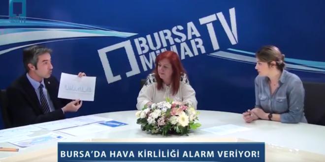 Bursa'da hava kirliliği alarm veriyor! – Bursa Mimar TV