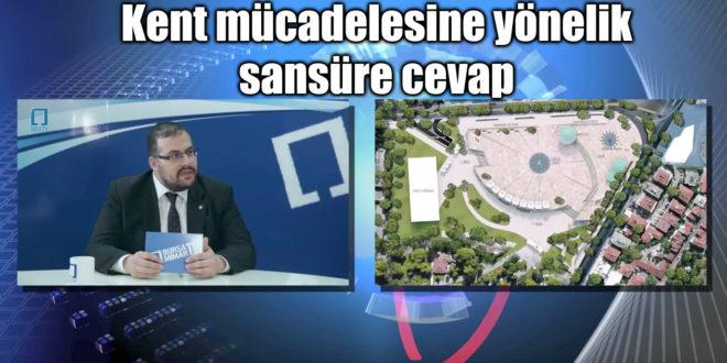 Yerel medyanın sansürüne karşı kenti savunmak için BursaMimar TV yayında