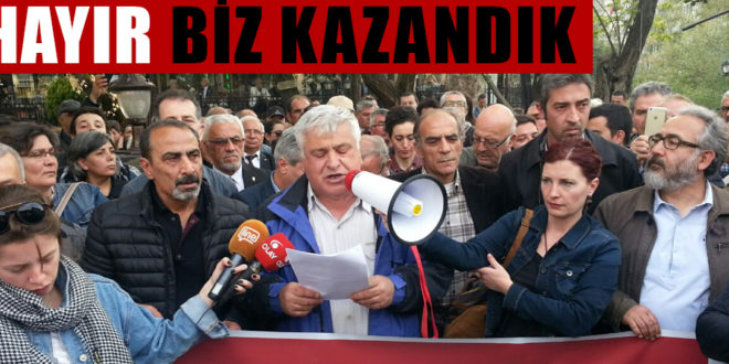 Bursa halkı: 'Hayır'ımızı çaldırmayacağız!