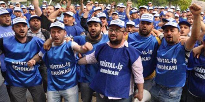 """Cam işçilerinden grev yasağına: """"Gerekli cevabı işyerlerimizde vereceğiz"""""""