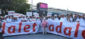 Adalet için kentin dört bir köşesinden yürüyenler buluştu: Bu yürüyüş tüm Türkiye halkı içindir