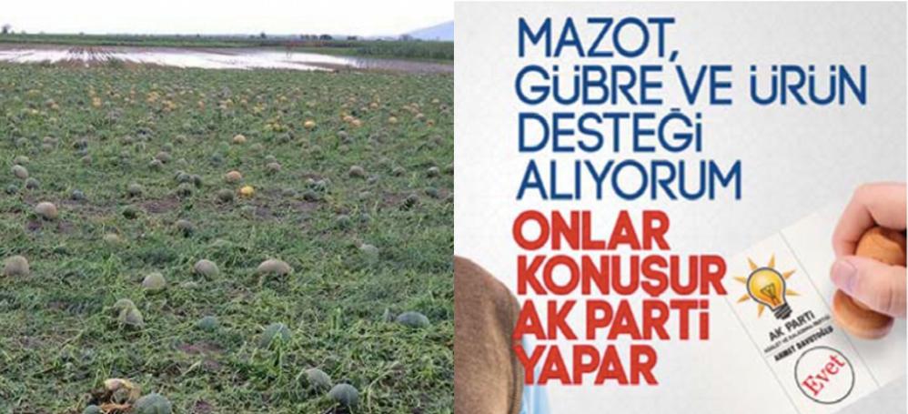 Çiftçinin zararının karşılanmasına AKP'den red!