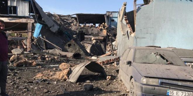 Bursa'da büyük işçi katliamı! Fabrikadaki patlamada 4 işçi yaşamını yitirdi