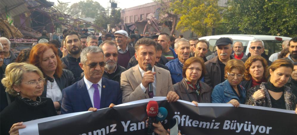 """Bursa Demokrasi Güçleri """"İş cinayetlerinin peşini bırakmayacağız"""""""