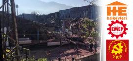 Bursa'daki işçi katliamına Halkevleri, EMEP ve TKP'den tepki