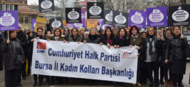 CHP'li kadınlar çocuk istismarını protesto etti