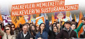 """Halkevleri: """"Eş Genel Başkanımız Dilşat Aktaş ve üyelerimiz derhal serbest bırakılsın!"""""""