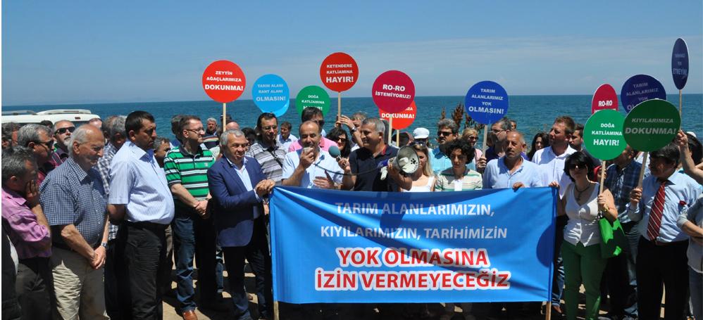 Mudanya'da bir kazanım daha! Ketendere Ro-Ro projesi iptal