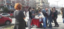 Bursa'da çocuk istismarına karşı imza topladılar