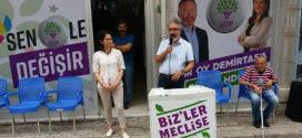 HDP Gemlik'te seçim bürosu açtı