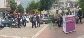 HDP İnegöl'deki faşist provakasyona rağmen seçim hazırlıklarına devam edecek